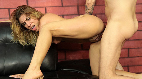 Danielle Sky Gets Bent Over and Nailed Doggystyle